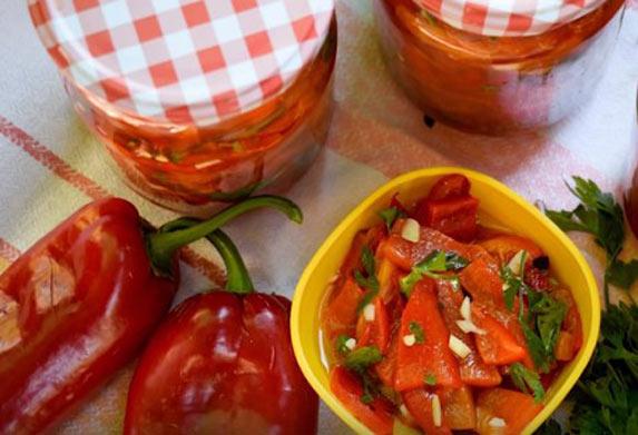 Paprika za zimu! Salata u tegli neodoljivog ukusa i bez konzervansa!