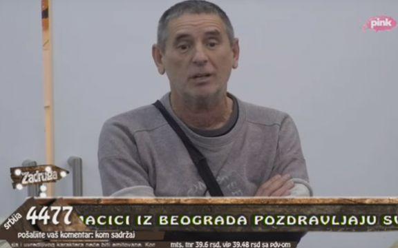 Zadruga: Ti si ozbiljan folirant i guzata tetka, izneo je Lepi Mića! (VIDEO)