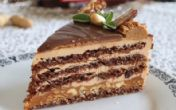 Snikers torta bez glutena! (VIDEO RECEPT)